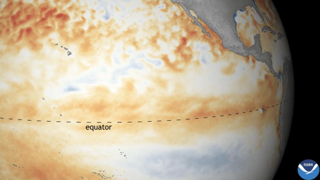 NOAA: El Niño está de volta