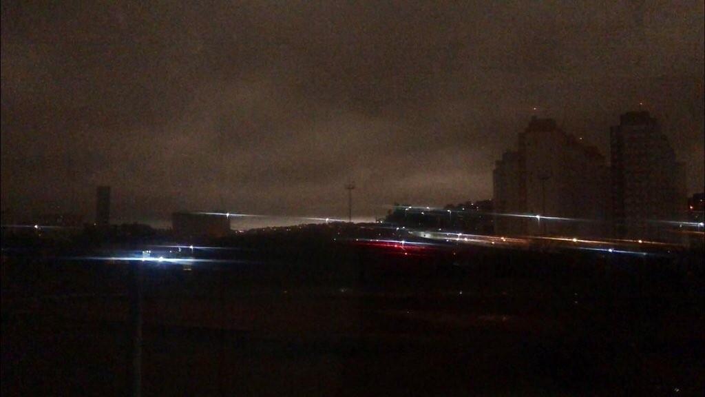 As queimadas e a escuridão na cidade de São Paulo