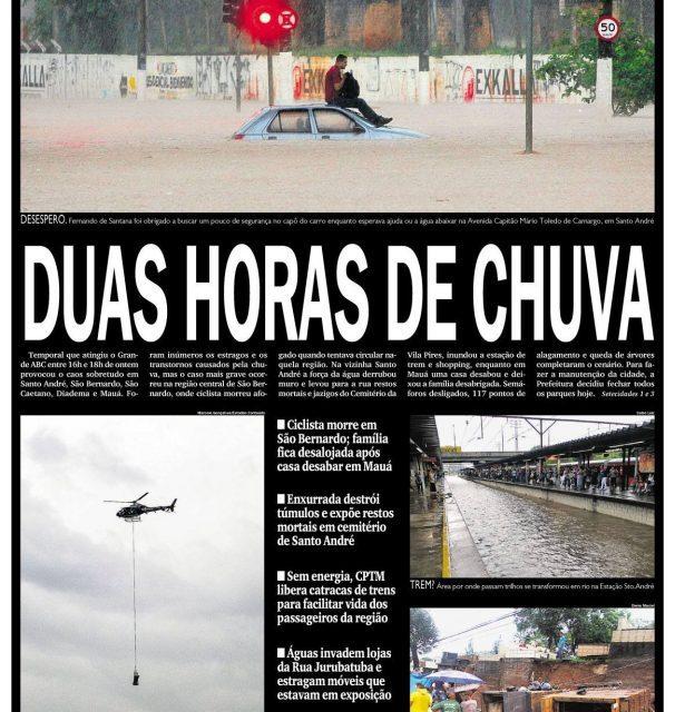 Muita chuva no Mato Grosso