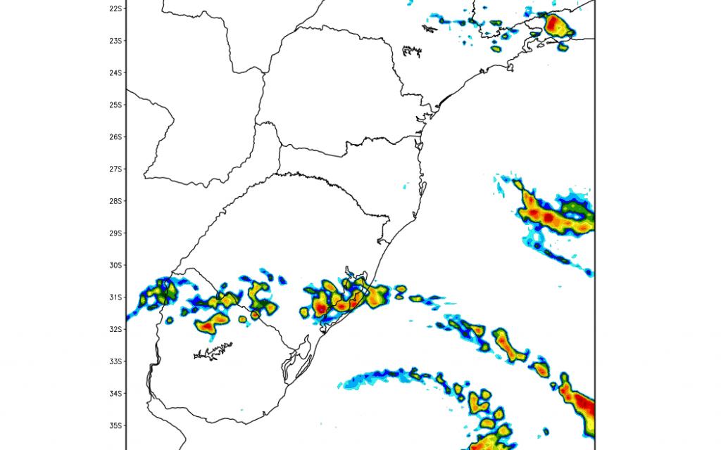 Terça amanhece fria e terá chuva em parte do Rio Grande do Sul