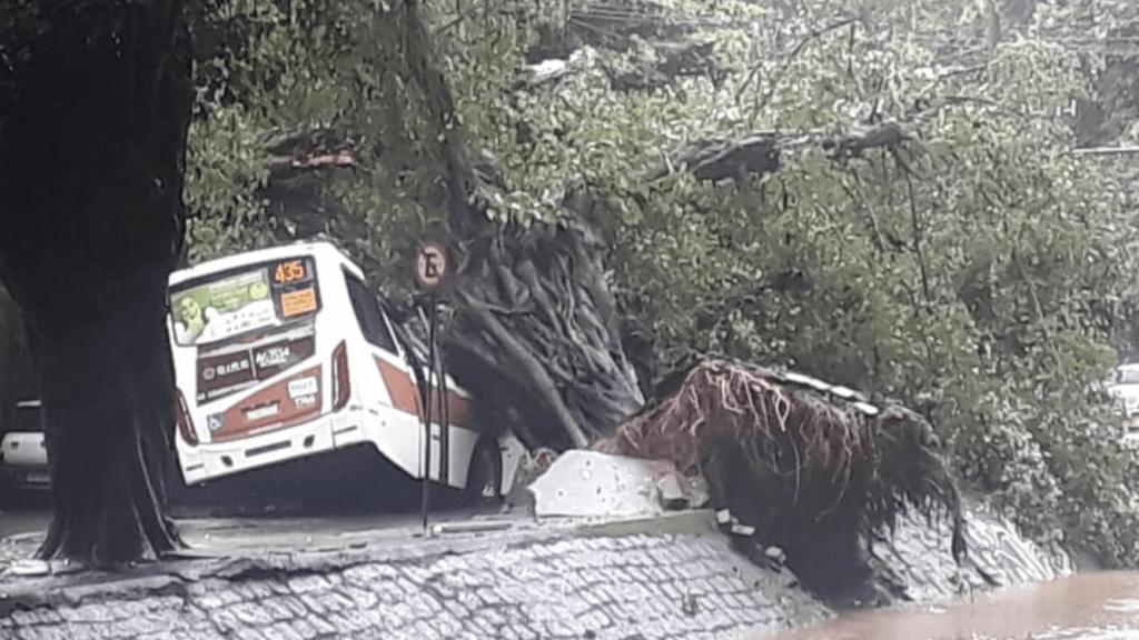 Dez mortos e destruição por chuva de 350 mm no Rio de Janeiro