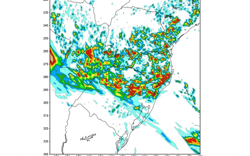 Gaúchos terão muitas nuvens e mais chuva na Metade Norte