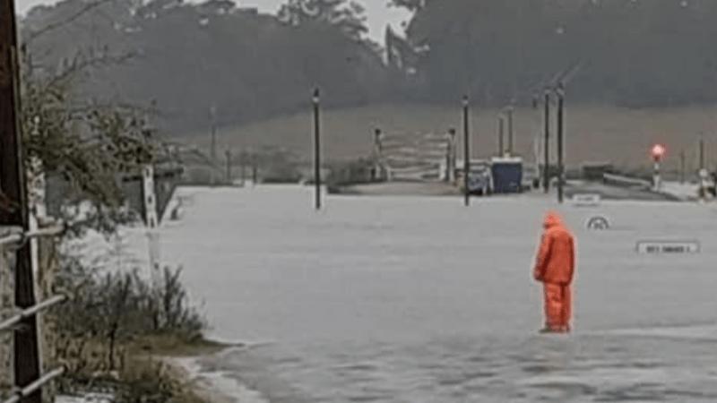Enchentes castigam o Uruguai