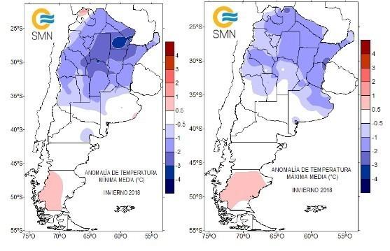 Argentina tem inverno mais frio desde 2007