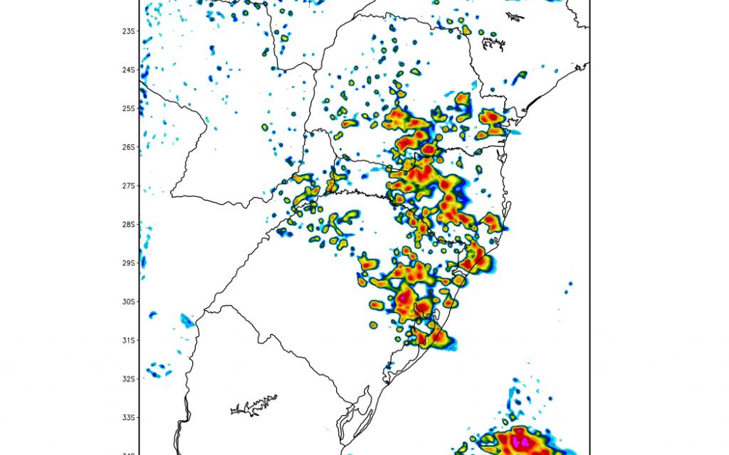Região de Porto Alegre pode ter chuva no fim da tarde de hoje