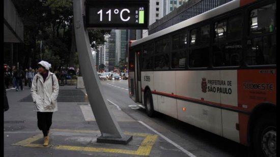 Elevação da temperatura marcará a semana em São Paulo