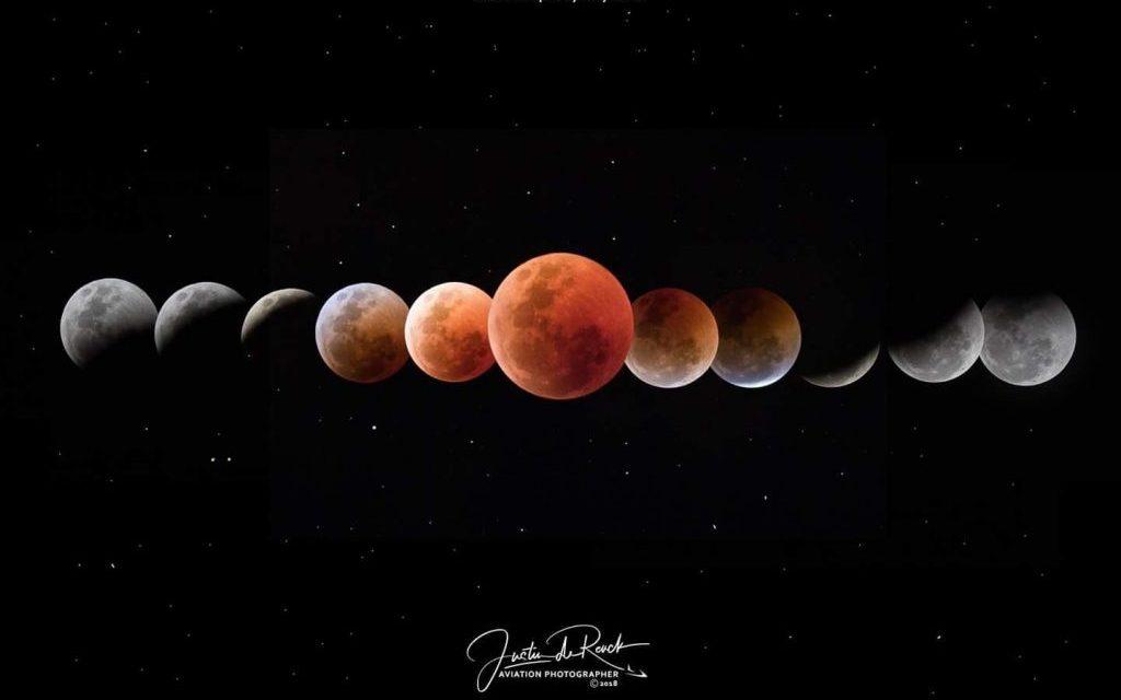 Mais longo eclipse lunar do século