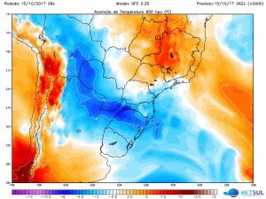 Horário de verão começa com frio no Rio Grande do Sul