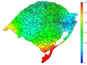 Onda de calor agravará estiagem em parte do Rio Grande do Sul