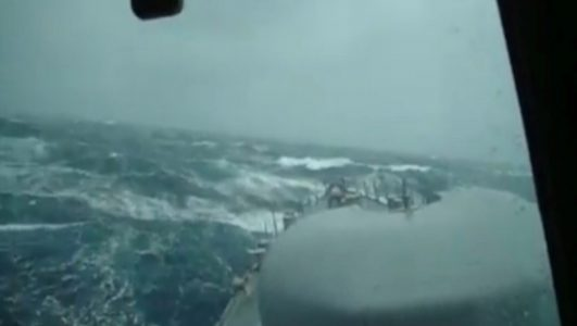 La Niña, frio e o submarino