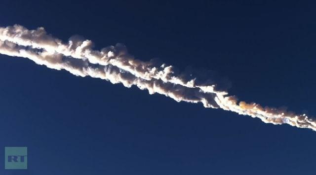 Meteorito deixa centenas de feridos em região da Rússia