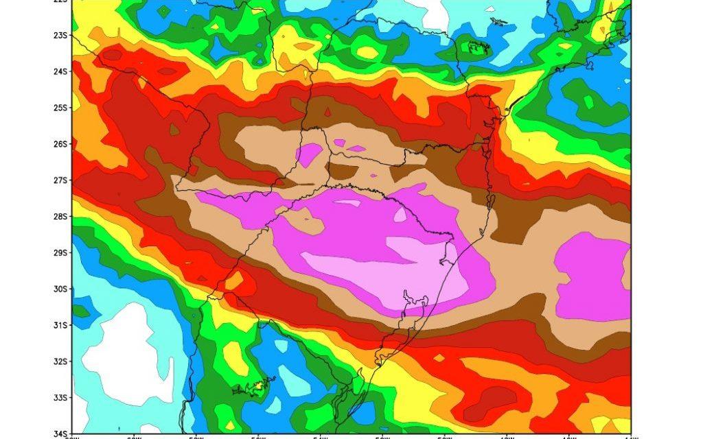 ***ALERTA*** Chuva excessiva e risco de cheias no Rio Grande do Sul