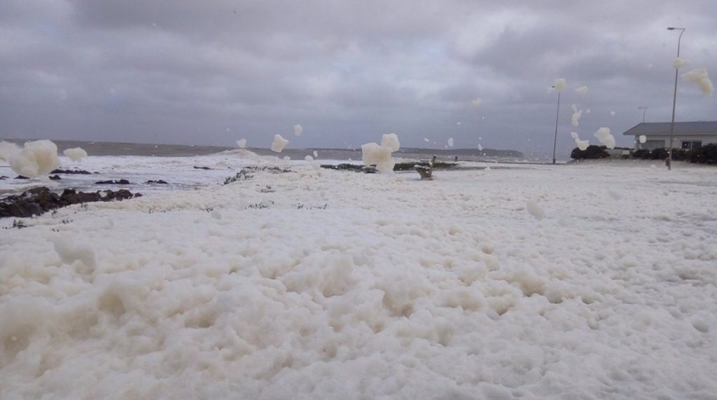 Vento de 100 km/h no Uruguai