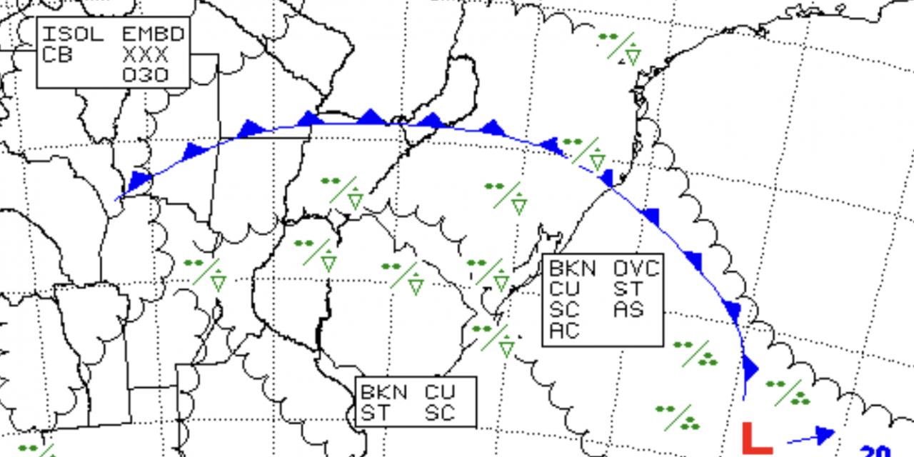 Frente fria muda o tempo no Rio Grande do Sul entre hoje e amanhã