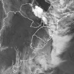 Frente fria no Sul do Brasil e queda de temperatura