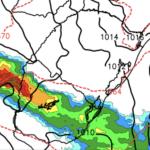 Fortes tempestades na Argentina e Uruguai nas próximas horas