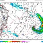Baixa trará chuva e temporais no Sul, Centro-Oeste e Sudeste