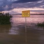 Condição não é mais de cheia do Lago Guaíba que baixa