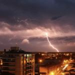 Chuva localmente forte com temporais no Rio Grande do Sul