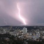 Quinta de muita chuva e tempestades no Rio Grande do Sul