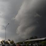 Chuva foi irregular e com temporais no Rio Grande do Sul