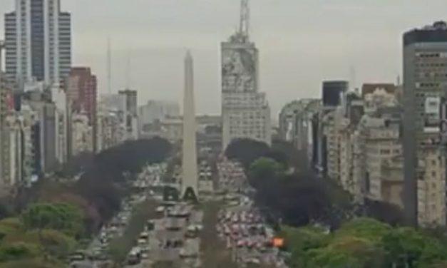 Outubro muito chuvoso em Buenos Aires, Uruguai e Rio Grande do Sul