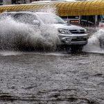 Chuva muito volumosa causa alagamentos e inundações