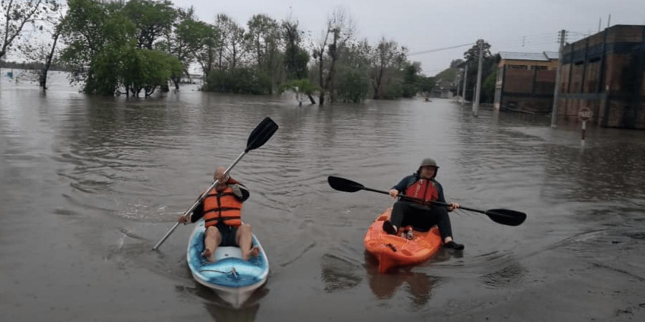 Rios da Metade Norte passam a preocupar após excesso de chuva e temporais