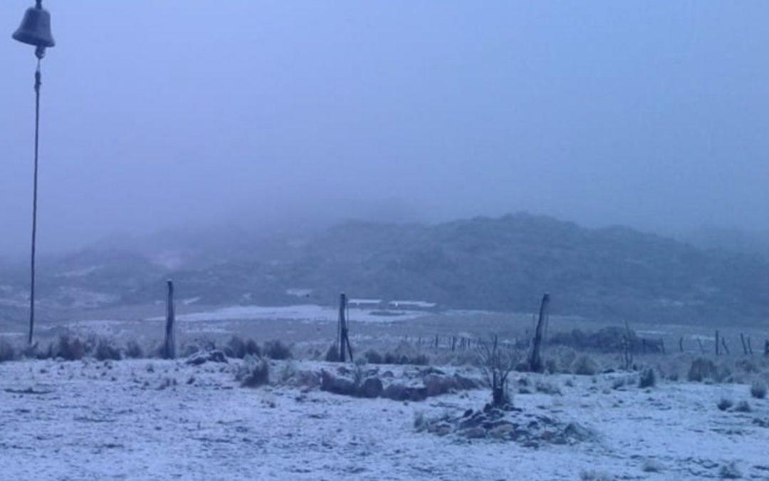 Neve na Argentina e frio de inverno no Rio Grande do Sul