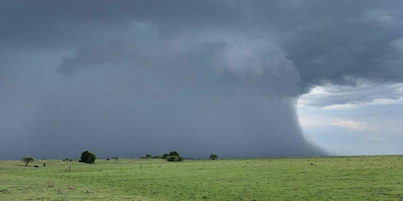 Chuva irregular e temporais isolados na Metade Norte