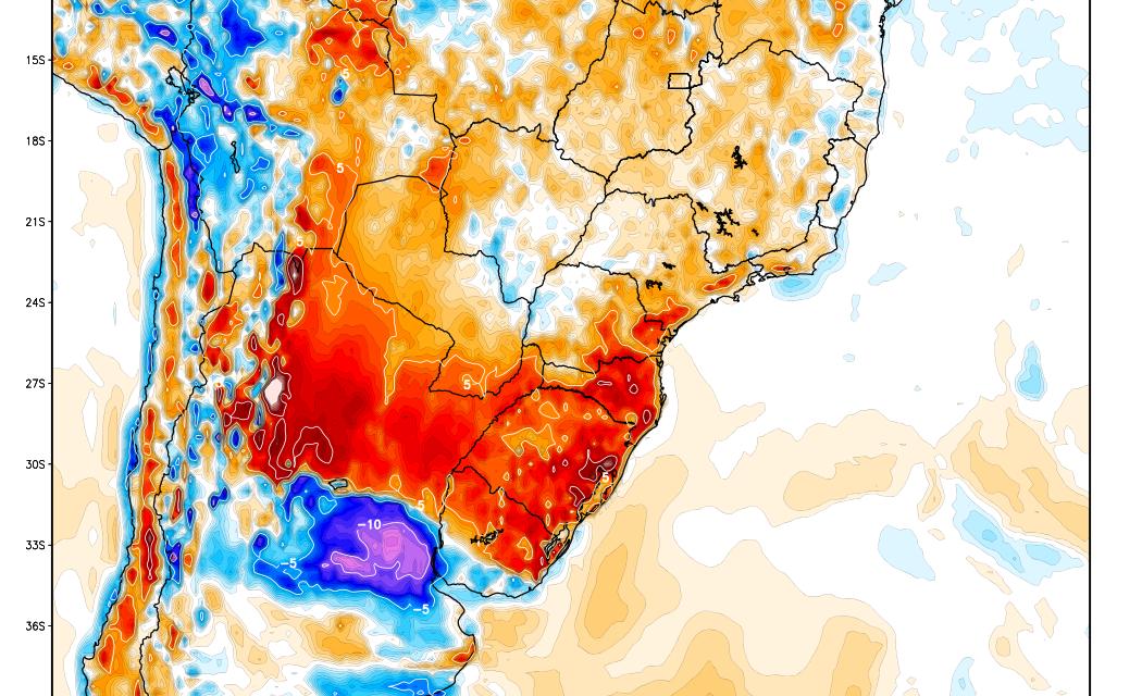 Bolha de calor sobre o Rio Grande do Sul traz calor extremo