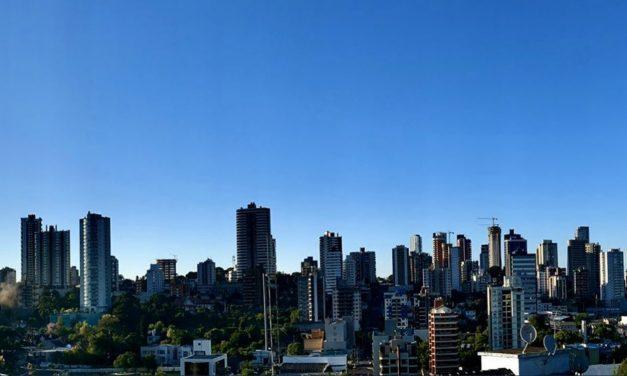 Cidade da Grande Porto Alegre registra menor umidade do país