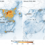 Coronavírus: crise provoca queda enorme da poluição da China