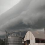 Terça abafada de muitas nuvens e instabilidade no Rio Grande do Sul