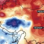 Novo coronavírus surgido na China coincide com inverno setentrional