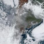 Fumaça dos devastadores incêndios na Austrália chega à América do Sul