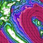 Ciclone subtropical pode se formar na costa brasileira