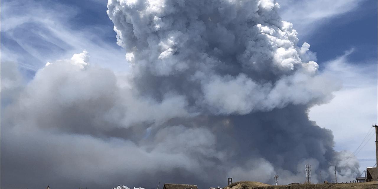 Fogo no Uruguai e Rio Grande do Sul com calor e ar seco