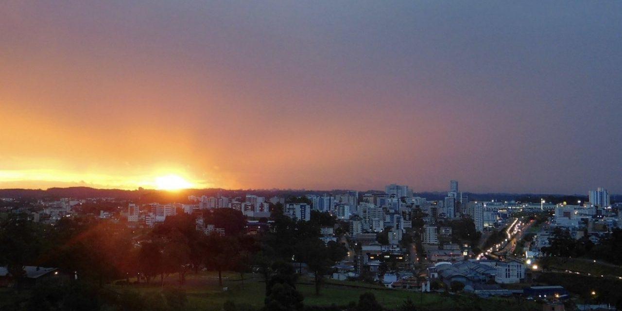 Sol aparece com nuvens na maior parte do Rio Grande do Sul