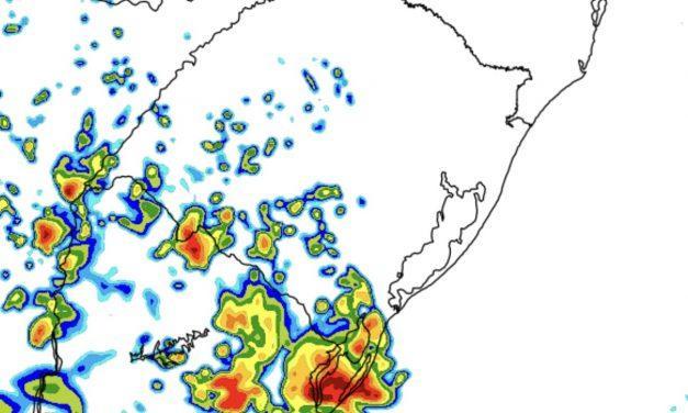 Risco de temporais localizados hoje e amanhã no Rio Grande do Sul