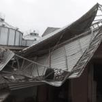 Tornado é a provável causa da destruição na cidade de Camargo
