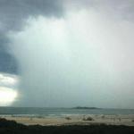 Chuva volumosa no Leste Catarinense por baixa pressão
