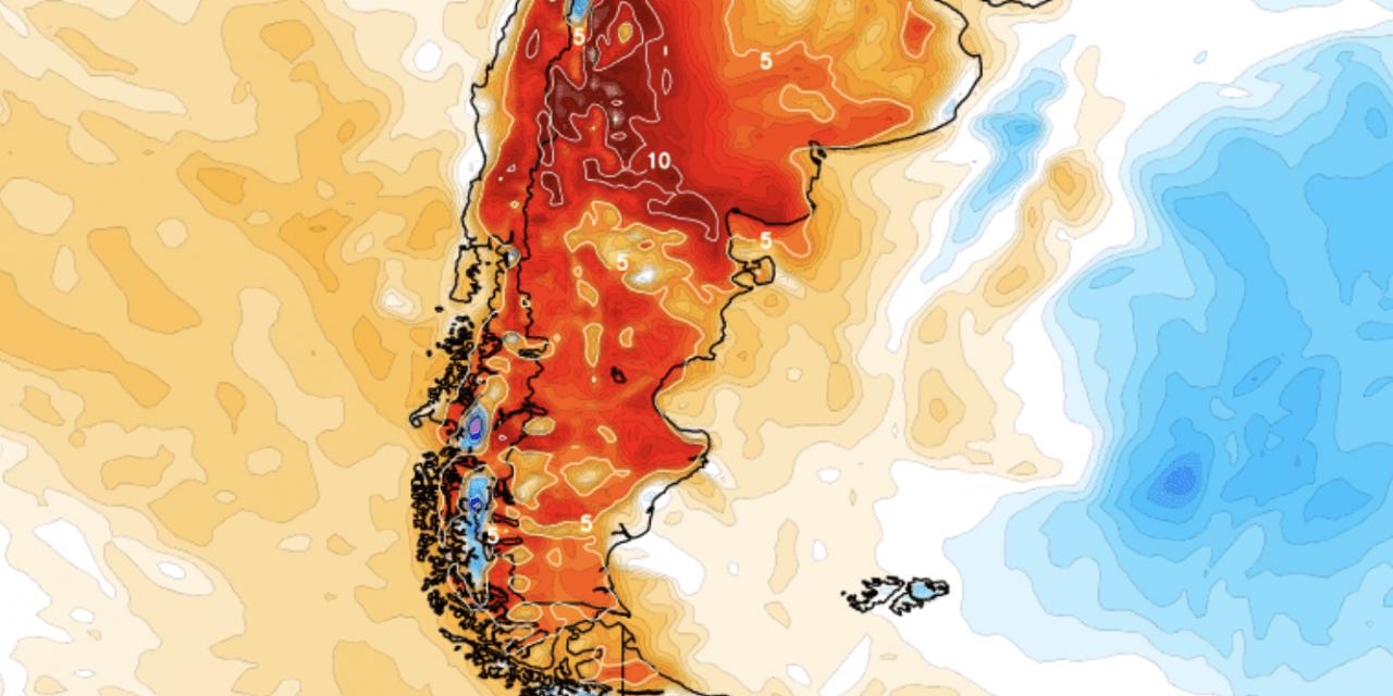 Forte onda de calor que castiga Argentina chegará ao Estado