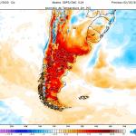 Forte onda de calor atinge a Patagônia e vai chegar ao Rio Grande do Sul