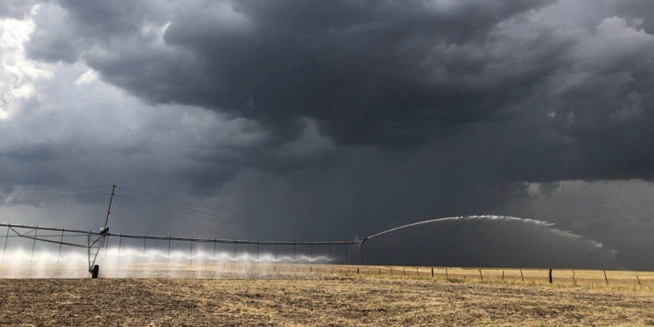 A chuva de hoje e os cenários possíveis para o fim da estiagem