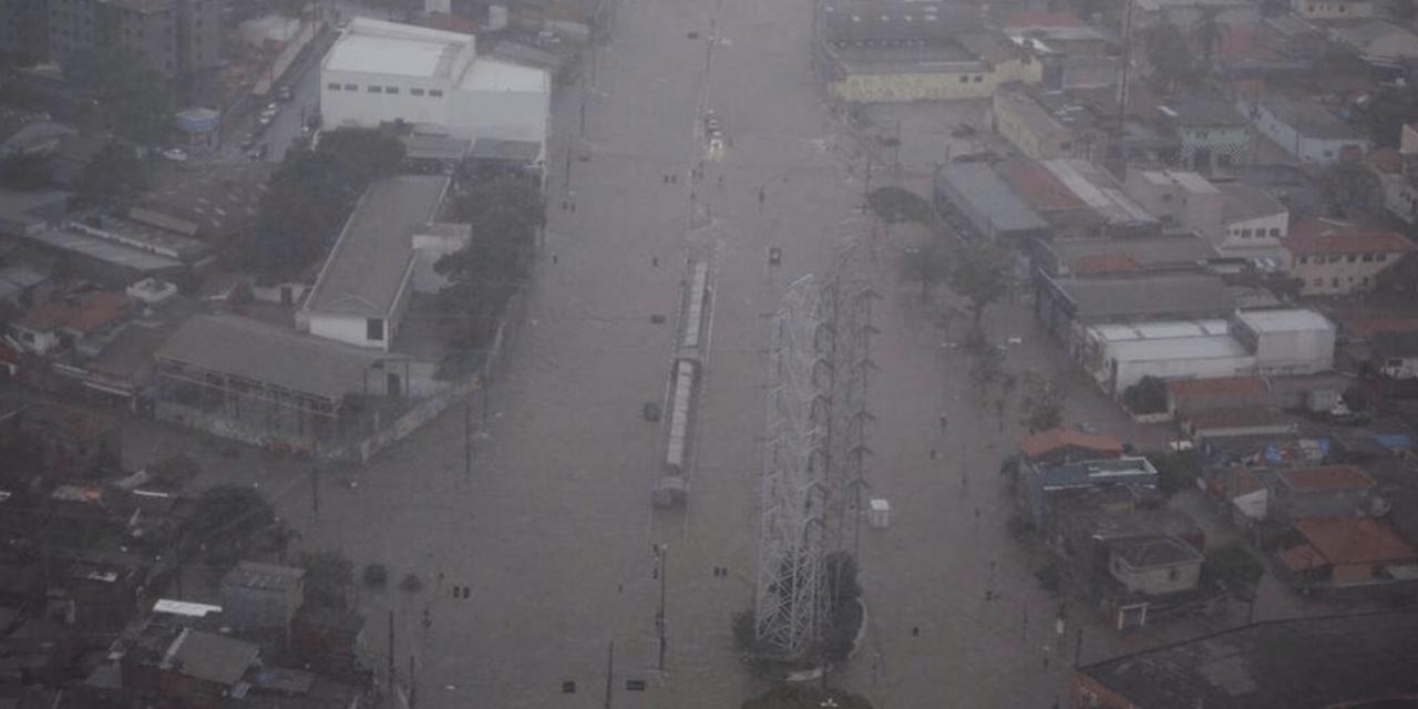 Excesso de chuva no Centro do Brasil e risco de estiagem no Sul