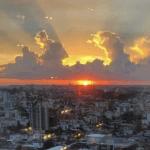 Sol predomina em dia menos quente no Rio Grande do Sul