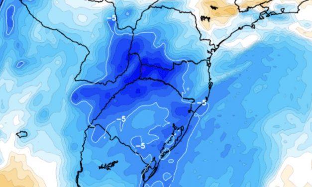 Paraná registra a primeira geada do ano