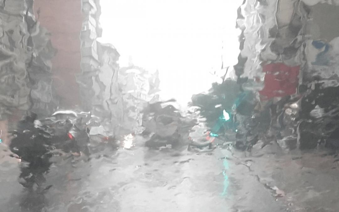 Parte do Uruguai teve quase 200 mm de chuva