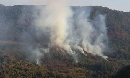 Bombeiros mobilizados por queimadas no Centro gaúcho
